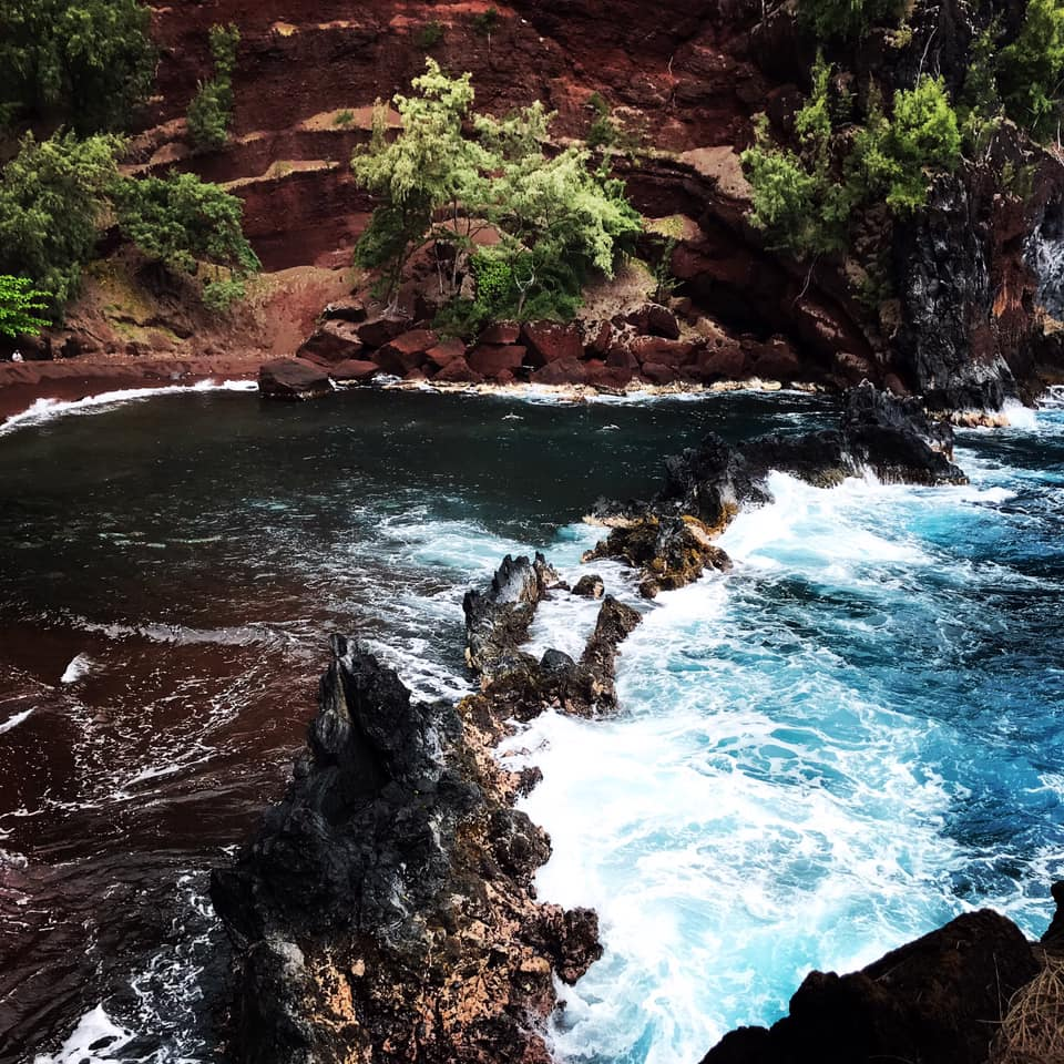 Redsand Beach, Road to Hana, Hawaï